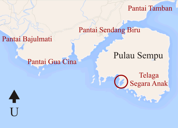 Pulau Sempu, ujung selatan Malang
